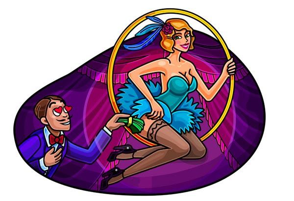 5 фриспинов в Cabaret Royale