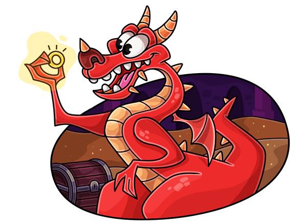 Нужен профессиональный дракон! Заберите сокровищницу себе!